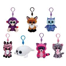 ty beanie boos 7 2015 spring releases plastic key clips
