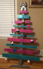 shabby chic wooden christmas tree christmas crafts pinterest