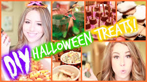 Diy Halloween Treats Diy Halloween Treats Youtube