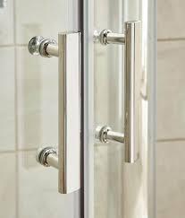 Pacific Shower Doors Pacific 760 X 1850mm Hinged Shower Door