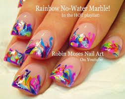 nail art water marble nail art instructionswater skin