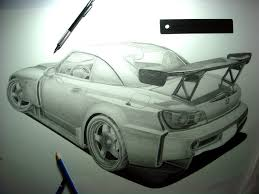 nissan silvia drawing drawing forum and art community u2022 view topic my car art thread