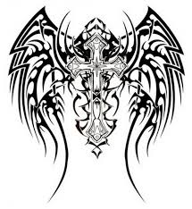 awesome tribal cross tattoos design inofashionstyle com