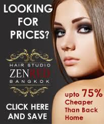Zenred Hair Salon Bangkok Thailand Hair Salon In Bangkok