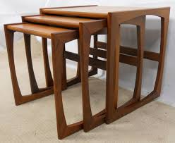 Coffee Table Nest by Sold Teak Retro Nest Of Three 1960 S Coffee Tables