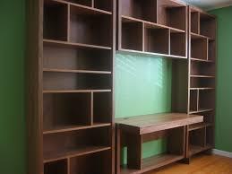 Desk And Bookshelf Combo Bookshelves With Desk Hostgarcia