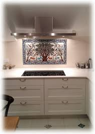 Kitchen Tile Backsplash Murals by The Olive Tree Of Jerusalem Ceramics Tile Mural Balian Studio