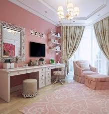 Pink Vanity Set 1 Dreamy House Pinterest Light Pink Bedrooms Pink