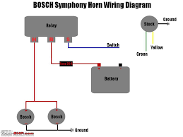 horn relay wiring diagram horn wiring diagrams instruction