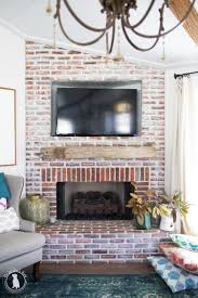 how to hide your tv over the fireplace the handmade home