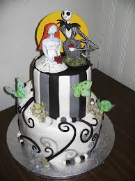 nightmare before christmas cake decorations nightmare before christmas wedding cake topper the wedding