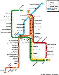rotterdam netherlands metro map amsterdam metro map amsterdam mappery