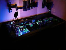 Desk With Computer Built In Custom Built In Computer Desk