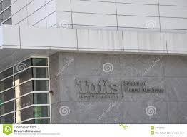 Tufts Campus Map Tufts University Of Dental Medicine Editorial Stock Photo