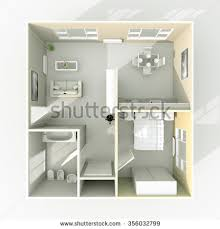 Home Plans With Photos Of Interior by 3d House Plans Stock Images Royalty Free Images U0026 Vectors