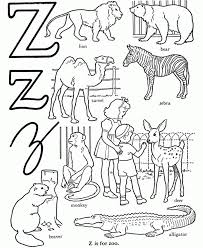 zoo animals coloring page printable pages click the to view