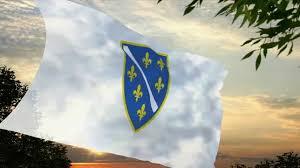 Flag Of Bosnia Flag And Anthem Of Bosnia And Herzegovina 1992 1997 Youtube