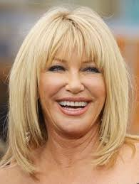 hairstyle bangs for fifty plus side swept bangs are youthful and natural for older women cute