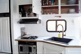 rv kitchen upgrades airstream remodel rv and airstream