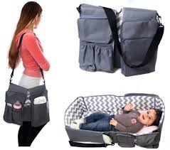 Best Baby Travel Crib by Amazon Com Peelco Le Petit 3 In 1 Baby Care Bag Travel Bed