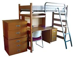 wooden loft bed with desk most recommended space available