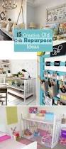 Repurpose Upcycle - 20 best ways to repurpose old cribs being crafty pinterest
