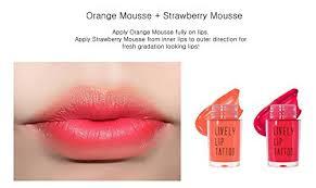 lips tattoo amazon amazon com eglips lively lip tattoo vivid color long lasting lip