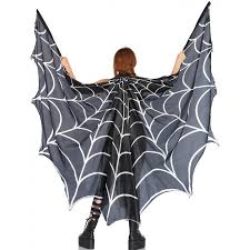 spiderweb festival wings costume cape