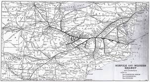 Map Of Youngstown Ohio by The Norfolk And Western Railway