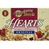 heart shaped crackers valley lahvosh baking co crackerbread 4 5 ounce boxes