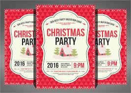 21 christmas party invitation templates free psd vector ai