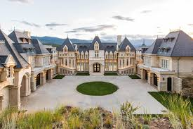 french chateau homes extreme homes of colorado incredible evergreen chateau for sale