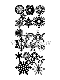 Home Decor 2018 by Aliexpress Com Buy Unique Wall Window Stickers Snowflake