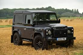 land rover defender black land rover defender 90 2015 review pictures land rover