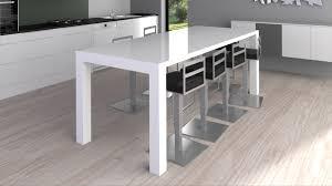 table de cuisine avec rallonges table de cuisine blanche avec rallonge 2017 avec table de cuisine
