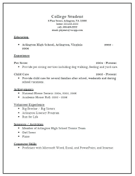 resumes exles for high school resume exles for college admission resumes