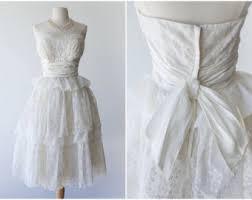 vintage wedding dress etsy