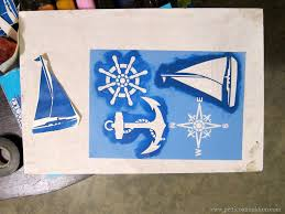 Valspar Nautical by Sailboat Inspired Nautical Themed Pub Table Tutorial