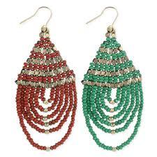 zad earrings wholesale seed bead gold loop earring zad fashion costume