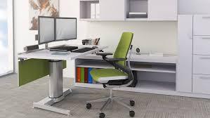 60 u2033 x 30 u2033 air touch adjusting standing desks by steelcase