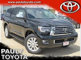 toyota 4wd new 2018 toyota sequoia platinum 4d sport utility in crystal lake