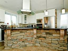 rustic kitchen with stone island best and popular rustic kitchen