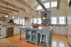 Country Kitchens With White Cabinets by Gorgeous Contrasting Kitchen Island Ideas Pictures Designing Idea