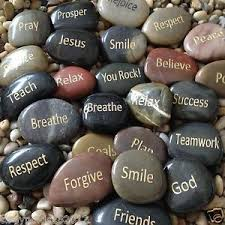 engraved stones engraved stones river rocks with inspirational words gifts or