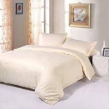 Best Quality Duvets Aliexpress Com Buy High Quality Cotton 1cm Stripe Plain Solid