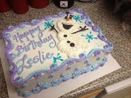 frozen olaf sheet cake myhomesweetbakery olaf