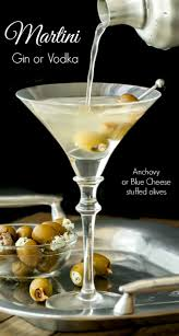martini fancy classic martini gin or vodka