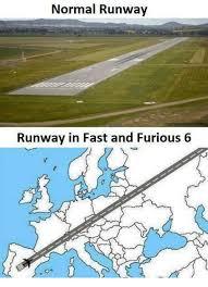Fast 6 Meme - normal runway runway in fast and furious 6 fast and furious meme