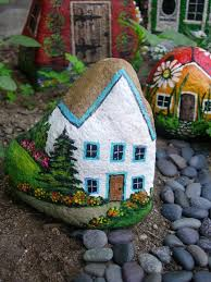 Garden Stone Craft - 1544 best hand painted stones ideas images on pinterest