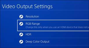 should i use rgb limited or rgb full on my playstation or xbox